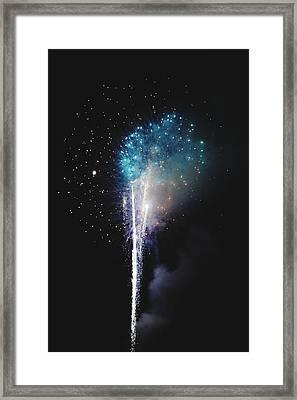 Cold Eruption Framed Print