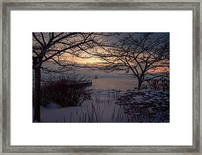 Cold Fingers Framed Print
