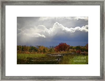 Cold Front Framed Print by Robert Pearson