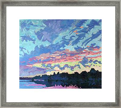 Cold Front Wake Framed Print by Phil Chadwick