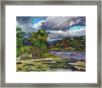 Cold Frontal Westerlies Framed Print by Phil Chadwick