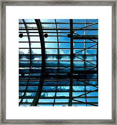 Cold Glass Framed Print