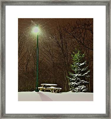 Cold Lunch Framed Print by Robert Pearson