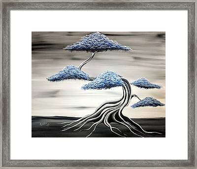 Cold Monday Framed Print