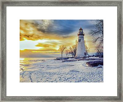 Cold Morning Framed Print by Jack R Perry
