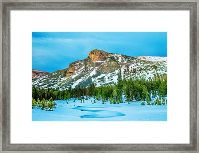 Cold Mountain Framed Print by Az Jackson