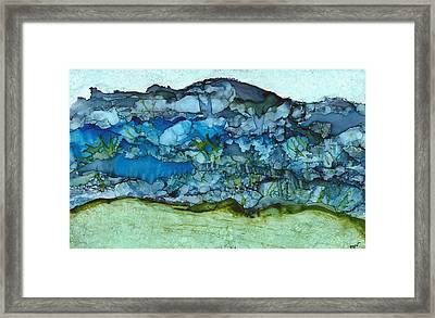 Cold Mountain Framed Print by Joy Dorr