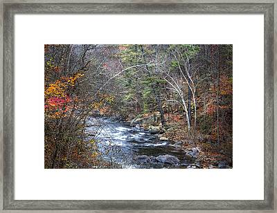 Cold Mountain Stream Framed Print