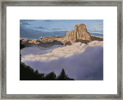 Cold Mountains Framed Print