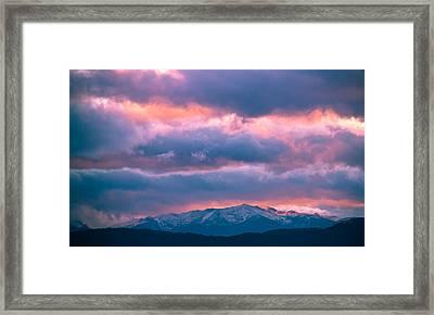 Cold November Rain Framed Print by Eti Reid