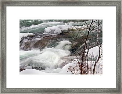 Cold Rush Framed Print by Timothy McIntyre