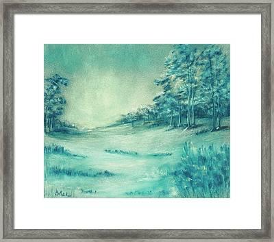 Cold Season Framed Print