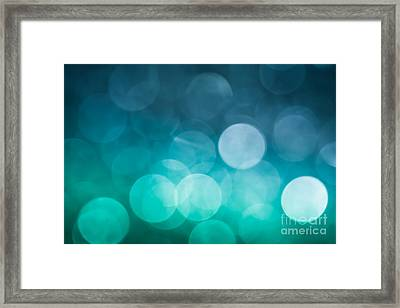 Framed Print featuring the photograph Cold Shower by Jan Bickerton