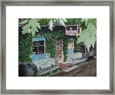 Cold Spring Tavern Framed Print by Dwight Williams