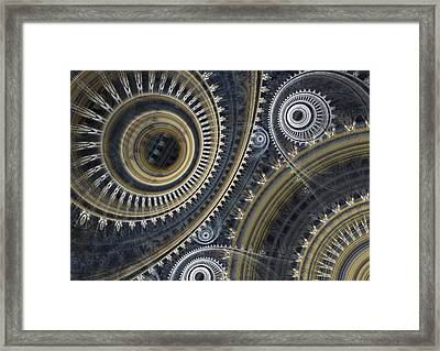 Cold Steel Framed Print by Martin Capek