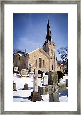 Cold Stone Service Framed Print