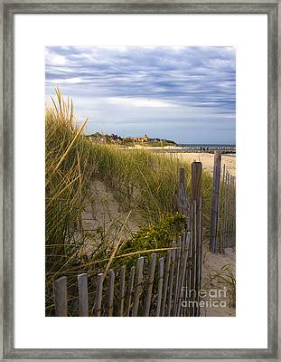 Cold Storage Beach Framed Print by Deb Koskovich