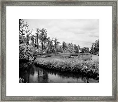 Cold Stream Framed Print