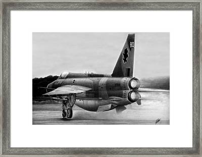Cold War Guardian Framed Print by Lyle Brown