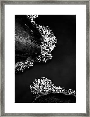 Cold White Diamonds Framed Print by Darren White