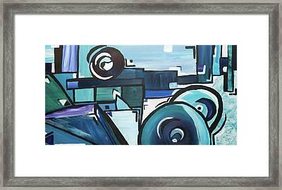 Coldest Eyes Framed Print
