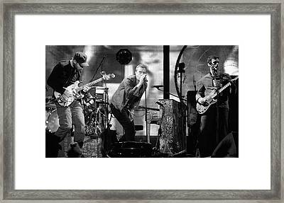 Coldplay 15 Framed Print by Rafa Rivas