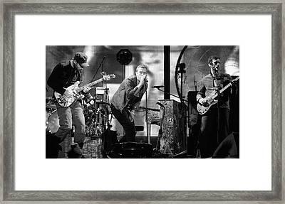 Coldplay 15 Framed Print