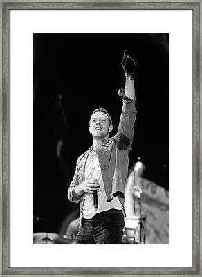 Coldplay 16 Framed Print by Rafa Rivas