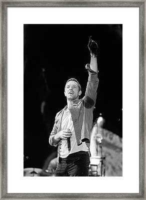 Coldplay 16 Framed Print
