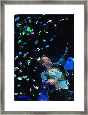 Coldplay1 Framed Print by Rafa Rivas