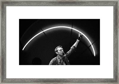 Coldplay10 Framed Print by Rafa Rivas