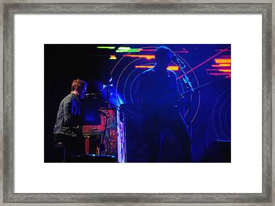 Coldplay2 Framed Print by Rafa Rivas