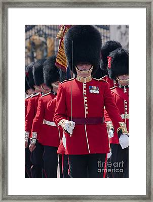 Coldstream Guards Framed Print by Andrew  Michael