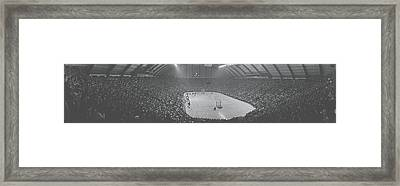 Cole Field House University Of Maryland Framed Print by Panoramic Images