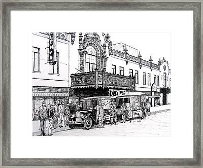 Coleman Theater, Miami, Oklahoma, 1931 Framed Print