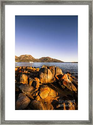 Coles Bay Tasmania Framed Print by Jorgo Photography - Wall Art Gallery