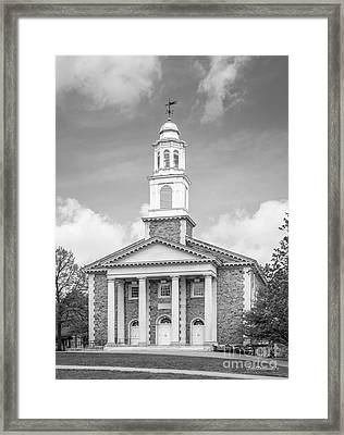 Colgate University Chapel House Framed Print