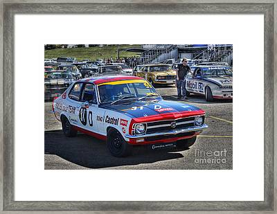 Colin Bond Torana Gtr Framed Print