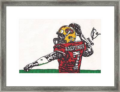 Colin Kaepernick 1 Framed Print by Jeremiah Colley