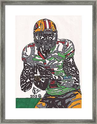 Colin Kaepernick 4 Framed Print by Jeremiah Colley