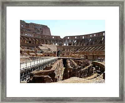 Coliseum 2 Framed Print by Blima Efraim