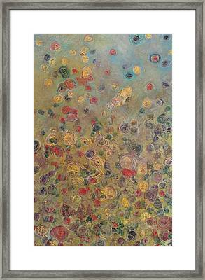 Collaboration Of Colors Framed Print by Jacob Stempky