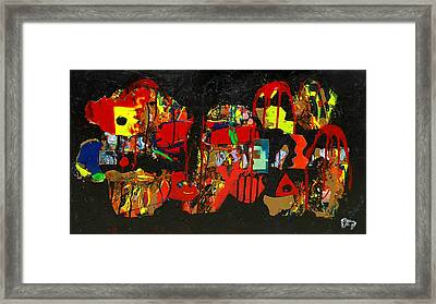 Collage 1 Framed Print by Paul Freidin
