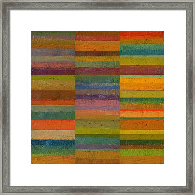 Collage 23 Framed Print by Michelle Calkins