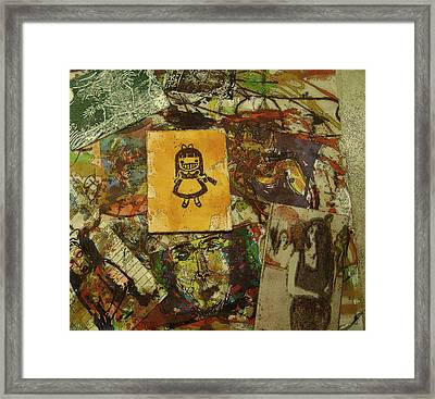 Collage 31 Framed Print by Noredin Morgan