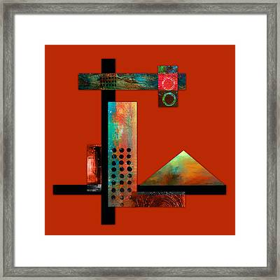Collage Abstract 1 Framed Print
