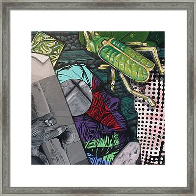 Collage Framed Print by Jude Labuszewski