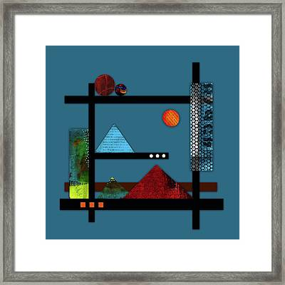 Collage Landscape 2 Framed Print