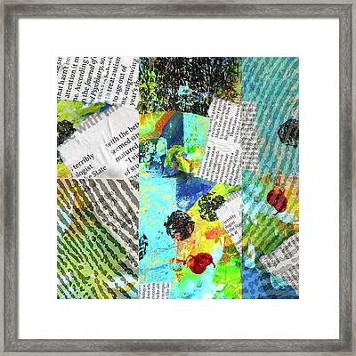 Collage No 11 Framed Print