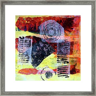 Collage No. 3 Framed Print